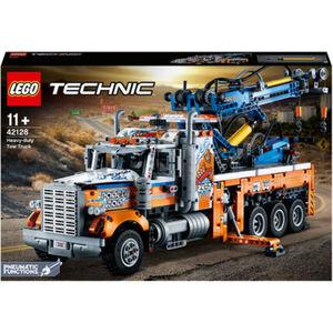 LEGO® Technic™ - 42128 Schwerlast-Abschleppwagen, Modellbauset, Technik für Kinder, Kran-Spielzeug