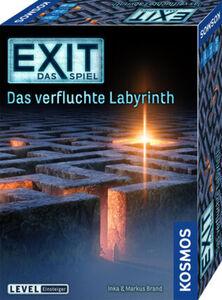 """Kosmos Kosmos Brettspiel """"EXIT-Das Spiel: Das verfluchte Labyrinth"""""""