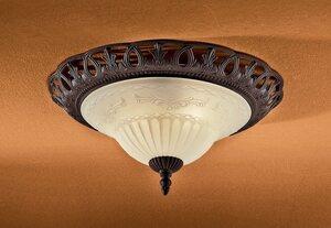 TRIO Leuchten Deckenleuchte »Rustica«, Deckenlampe, Leuchtmittel tauschbar
