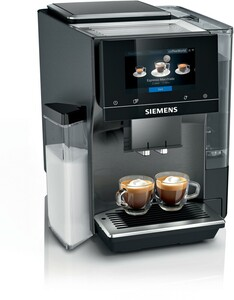 SIEMENS TQ707DF5 Kaffeevollautomat (OneTouch, ceramDrive, Milchtank, iSelect Display, herausnehmbare Brühgruppe, Home Connect)