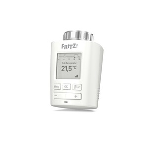 AVM FRITZ!DECT 301 Heizkörperthermostat (Intelligenter Heizkörperregler für das FRITZ!Box-Heimnetz)