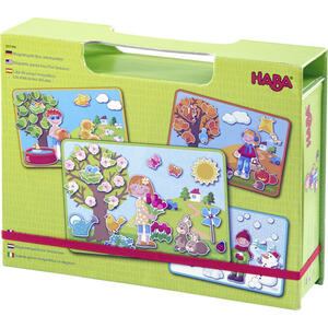Haba Magnetspiel Jahreszeiten  Mehrfarbig  Kunststoff