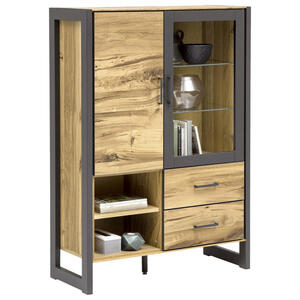 Carryhome Kommode  Alteiche  Holz