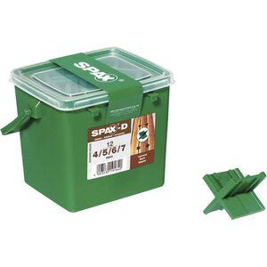 SPAX-Fugenlehre 4-5-6-7 mm 12 Stück pro Packung