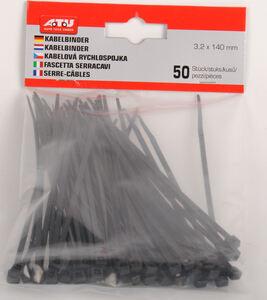 A.T.U Kabelbinder 140X3,6 Mm 50 Stück