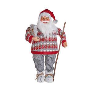 X-MAS Deko-Santa mit Pullover Höhe 89cm