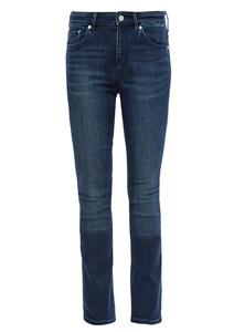 Damen Slim Fit: Bootcut-Jeans
