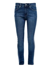 Damen Slim Fit: Jeans mit Inside Out-Detail