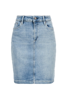 Damen Jeansrock aus Baumwollstretch