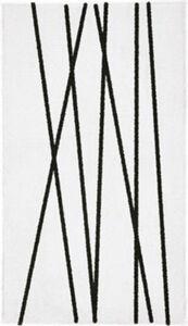 Kleine Wolke Badematte Tira Fußbodenheizung geeignet#rutschhemmend Streifen  55x65 cm