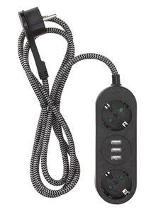HEMA 2-fach-USB-Steckdosenleiste