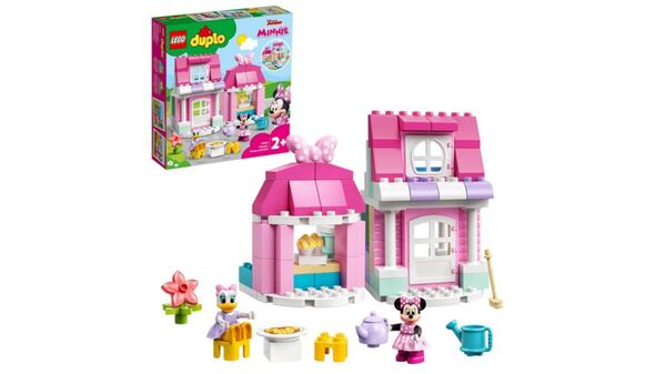 LEGO DUPLO Disney 10942 Minnies Haus mit Café Spielzeug zum Bauen