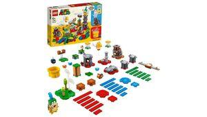LEGO 71380 Super Mario Baumeister-Set für eigene Abenteuer, Spielzeug