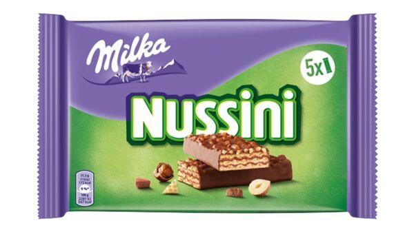 MILKA NUSSINI SCHOKOLADEN RIEGEL MILCH 157.5GR