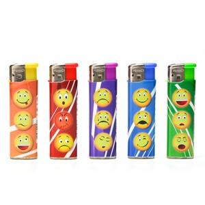 Feuerzeug Brasil/Smiley Gasfeuerzeug