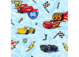 Vliestapete Disney Cars Let´s race