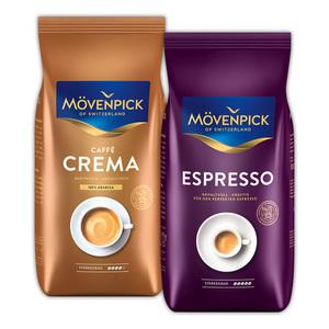 Mövenpick Caffè Crema / Gusto Italiano / Espresso