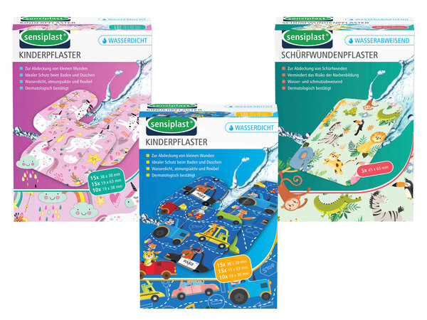 SENSIPLAST® Kinder-/Schürfwundenpflaster