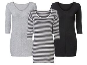 ESMARA® Damen Longshirt, mit 3/4-Ärmel