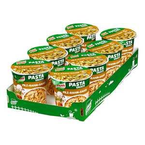Knorr, Snack Becher Pasta in Pilz-Rahm-Sauce 63 g, 8er Pack