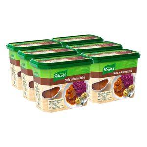 Knorr Soße zu Braten Extra ergibt 2,5 Liter, 6er Pack