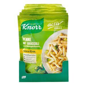 Knorr Veggie Penne mit Broccoli 146 g, 10er Pack