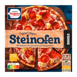 ORIGINAL WAGNER     Steinofen-Pizza Diavolo