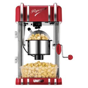 Unold Popcornmaker Retro Rot 300W rot metallic/chrom