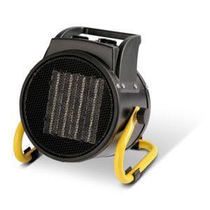 Industrie-Heizgerät schwarz 2000 W