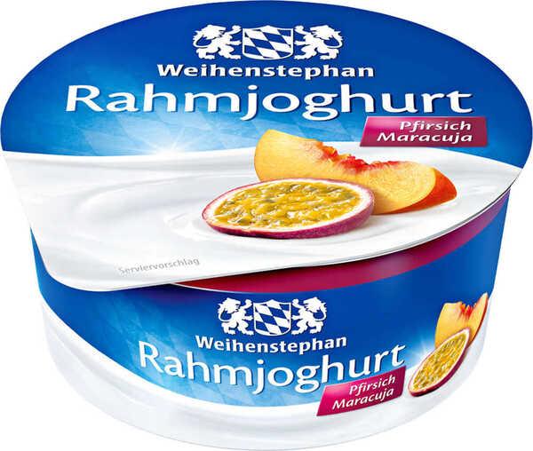 WEIHENSTEPHAN Rahmjoghurt oder MÜLLER Fruchtjoghurt Nature