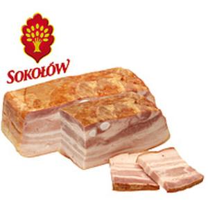 Schweinebauchspeckzubereitung, mit tierischem Eiweiß (Schwei...