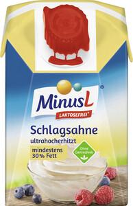 Minus L haltbare Schlagsahne 30% laktosefrei 200ml