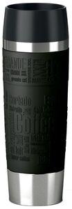 emsa Isolierbecher TRAVEL MUG Grande 0,50 Liter schwarz