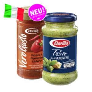 Barilla Pesto, Spezial- oder Vero Gusto Saucen