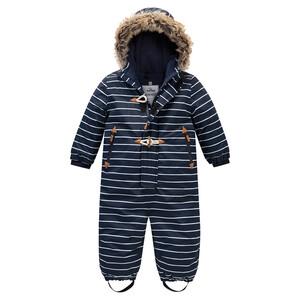 Baby Schneeoverall mit Knebelknöpfen