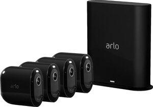 ARLO Pro 3 Sicherheitssystem mit 4 Kameras »kabellose 2K-QHD-Sicherheitskamerasystem«