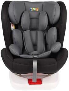 ABUKI Autokindersitz »Salo«, 7,9 kg, 360 grad Rotation für leichtes ein- und aussteigen, vorwärtgerichtet 0-13 Kg und rückwärtsgerichet 9-36 Kg