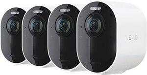 ARLO »Ultra 2 Spotlight Kabelloses 4K-UHD-Überwachungssystem mit 4 Kamera« Überwachungskamera (Außenbereich, 4-tlg)