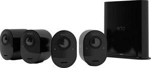 ARLO »Arlo Ultra 2 Spotlight-Kamera-Set« Überwachungskamera (Außenbereich, Reichweite: bis zu 91,4 m Sichtbereich, Einstellbare Geräuscherkennung, Integrierte intelligente Sirene, Eingebaute Ant