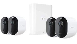 ARLO »Arlo Pro3 VMS4440P-100EUS kabelloses 2K HDR Überwa« Smart-Home Starter-Set