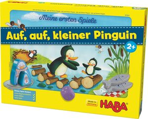 Haba Spiel, »Meine ersten Spiele - Auf, auf, kleiner Pinguin!«, Made in Germany
