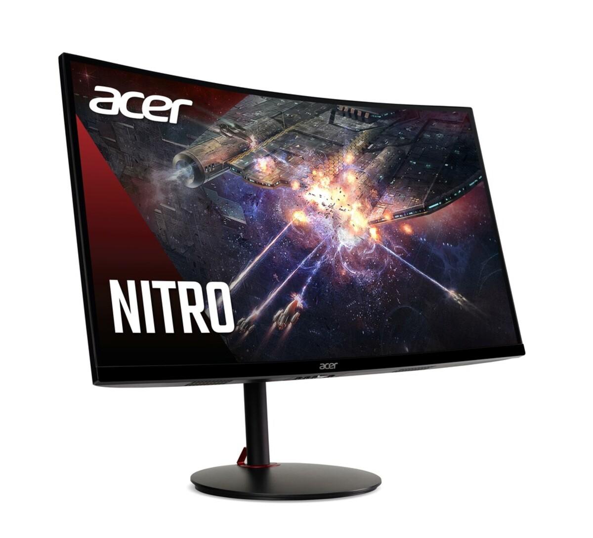 Bild 2 von ACER Nitro XZ270UPbmiiphx Gaming-Monitor (G, 27 Zoll, 2560x1440, VA, 16:9, 1 ms, 2x HDMI, DP, Freesync, 144 Hz, Pivot, Curved, Lautsprecher)