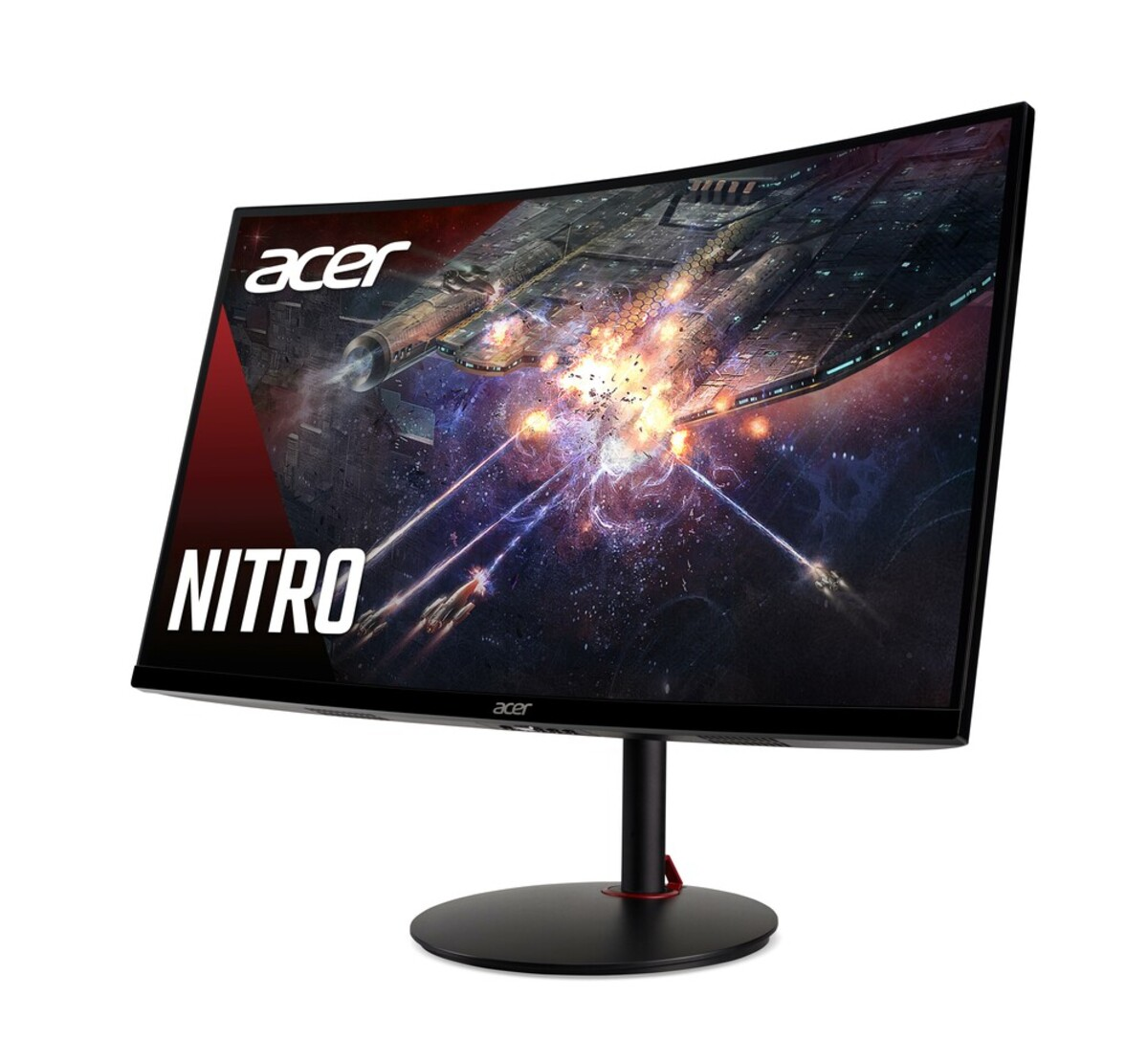 Bild 3 von ACER Nitro XZ270UPbmiiphx Gaming-Monitor (G, 27 Zoll, 2560x1440, VA, 16:9, 1 ms, 2x HDMI, DP, Freesync, 144 Hz, Pivot, Curved, Lautsprecher)