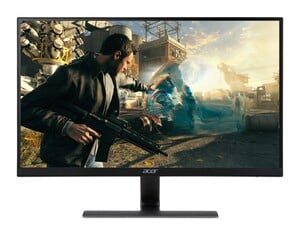 ACER Nitro RG270bmiix Gaming-Monitor (D, 27 Zoll, Full-HD 1920 x 1080 Pixel, IPS, 1 ms Reaktionszeit, 75 HZ, 2x HDMI, VGA, Zero Frame, FreeSync, Lautsprecher)