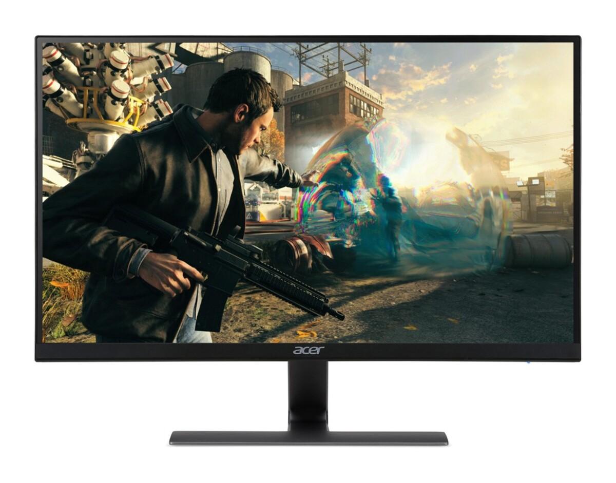 Bild 1 von ACER Nitro RG270bmiix Gaming-Monitor (D, 27 Zoll, Full-HD 1920 x 1080 Pixel, IPS, 1 ms Reaktionszeit, 75 HZ, 2x HDMI, VGA, Zero Frame, FreeSync, Lautsprecher)