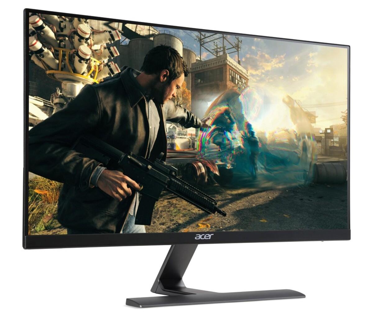 Bild 5 von ACER Nitro RG270bmiix Gaming-Monitor (D, 27 Zoll, Full-HD 1920 x 1080 Pixel, IPS, 1 ms Reaktionszeit, 75 HZ, 2x HDMI, VGA, Zero Frame, FreeSync, Lautsprecher)