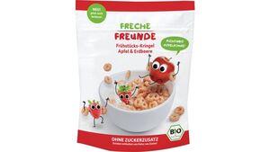Freche Freunde Bio Frühstücks-Kringel Apfel & Erdbeere 125g