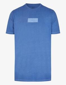 Eagle Denim - Baumwoll-Shirt mit Cold-Pigment-Dye-Effekt