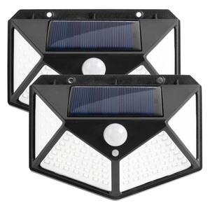 IC Gardenstyle LED-Solar-Sicherheitslicht - 2er-Set