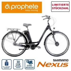 Alu-Elektro-Fahrrad Genießer EFC 300 26er oder 28er, Preis für vormontierte Räder • Fahrunterstützung bis ca. 25 km/h • 5 Unterstützungsstufen • AEG Li-Ionen-Akku 36 V/11,6 Ah, 417 Wh